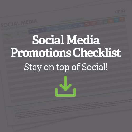 Social Media Integration Checklist - Stay on top of Social!