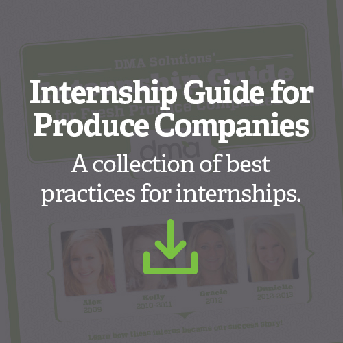 Internship Guide for Produce Companies