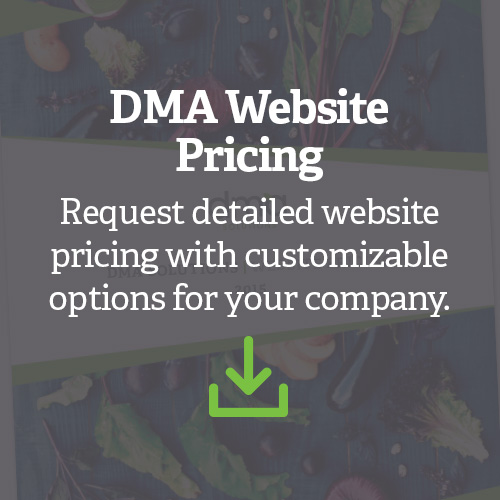 Request Website Pricing