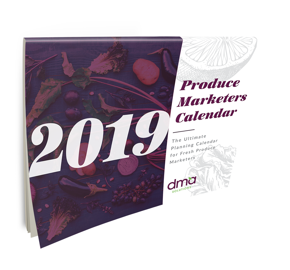 2019 DMA Produce Marketers Calendar