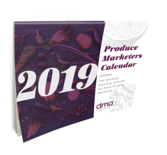2019 Produce Marketers Calendar