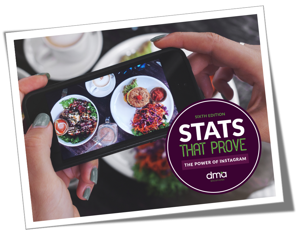 Stats that Prove: Edition 6 - The Power of Instagram - a PDF from DMA Solutions
