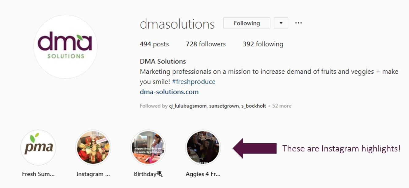 5 ways to use Instagram highlights-DMA Solutions-1