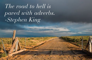 Road to Hell Paved with Adverbs Stephen King Quotes-DMA Solutions