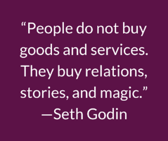 Seth Godin Quote-DMA Marketing-Danl Mackey Almy-2