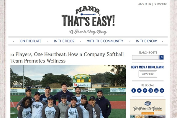 Mann That's Easy blog home page