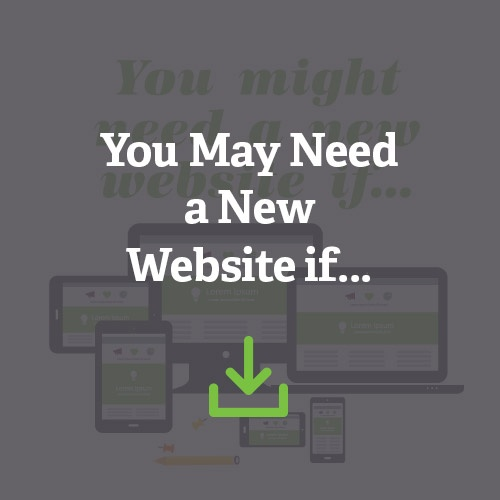 You Might Need A New Website If