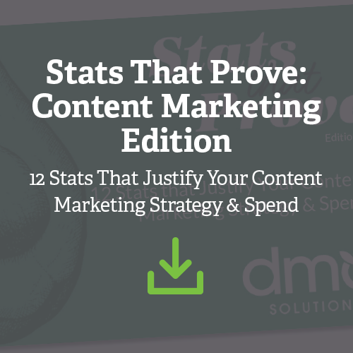 Stats that Prove: Content Marketing Edition