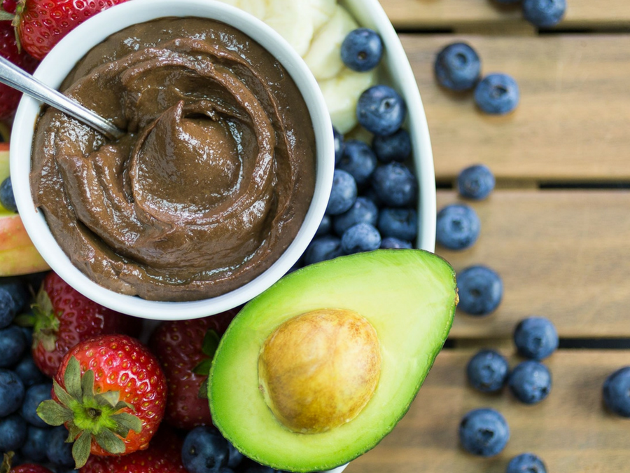 Avocado Choco Dip FEATURED