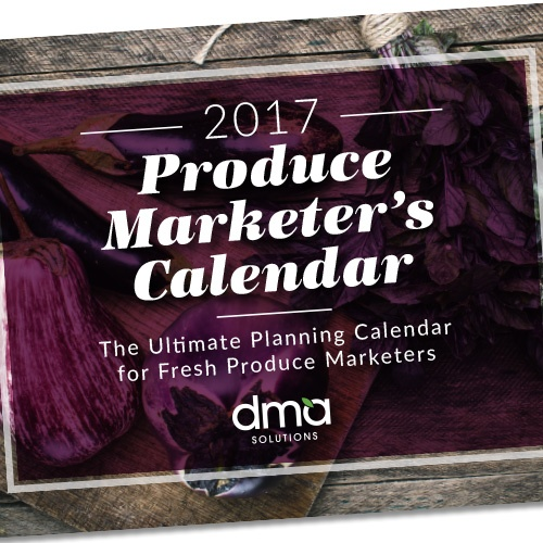 2017 Produce Marketers Calendar