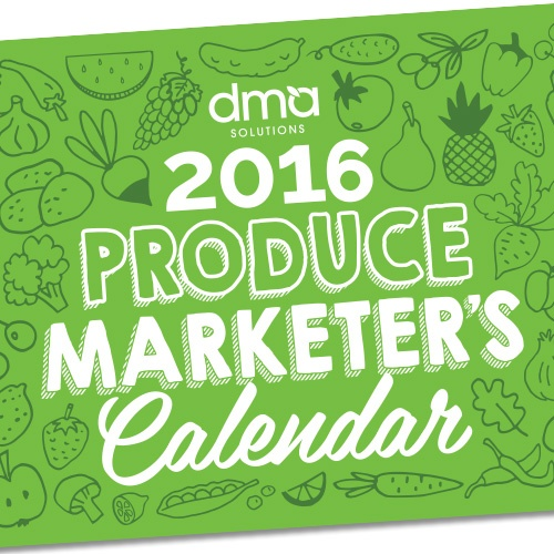 2016 Produce Marketers Calendar