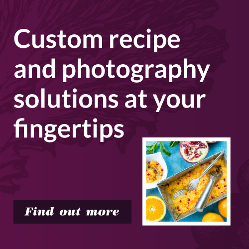 5 Custom Recipes with Photography